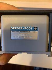 Veeder-Root 120506-100 Electromechanical Counter, 6 Digit, 115VAC, Panel Mount