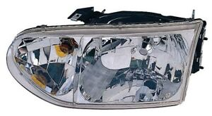 Headlight Assembly Front Left Maxzone 315-1134L-AS