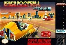 Space Football (Super Nintendo Entertainment System, 1992) VERY GOOD - CART ONLY