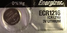 1 New ENERGIZER CR1216 Lithium 3v Coin Battery Australia Stock FAST SHIPPING