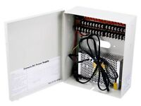 16 Channel CCTV Camera Power Supply - 12VDC - 10Amps Professionals Series NEW***