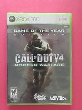 Call Of Duty: Modern Warfare Game Of The Ye Video Game Activision XBOX 360
