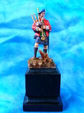 Peinture fine - Joueur de cornemuse écossais des highlands