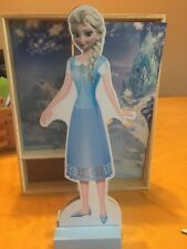 Disney Frozen Princess ELSA  Magnetic Wooden Dressup Paper Dolls - Used Bx4