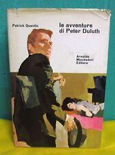 Patrick Quentin LE AVVENTURE DI PETER DULUTH - Omnibus Mondadori I° ed. 1962