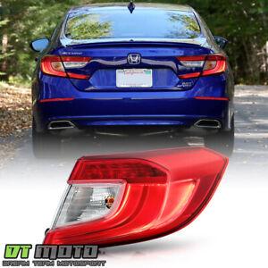 For 2018-2021 Honda Accord OE Style Outer Tail Light Brake Lamp Passenger Side