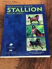 More details for national hunt stallion book 2003 !  large colourful publication