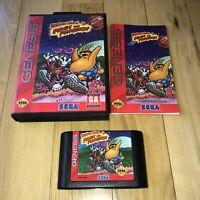 EX COND Sega Genesis ToeJam & Earl Panic on Funkotron Game Complete In Box CIB