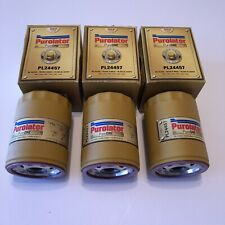 Lot Of 3 New Oil Filter Purolator PL24457 PureONE New in Box
