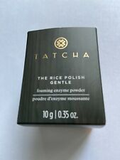 TATCHA Polished GENTLE RICE ENZYME POWDER, 0.35OZ/10G IN The Box SHIPPING FREE