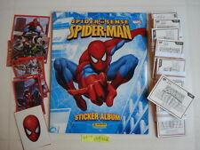 PANINI EMPTY ALBUM + ALL 168 STICKERS OF SPIDERMAN SPIDER SENSE
