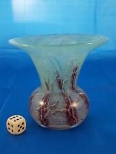Kleine WMF Ikora Vase Glasvase Art Deco 9,5cm