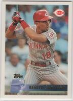 1996 Topps Baseball Cinncinati Reds Team Set (Larkin, Sanders, Morris, & Boone)