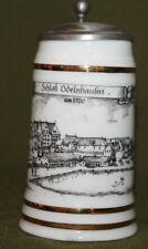 Vintage German Dr Merkle Atelier lidded stein