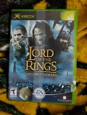 Lord of the Rings: The Two Towers (Microsoft Xbox, 2002) CIB Black Label !L@@K!