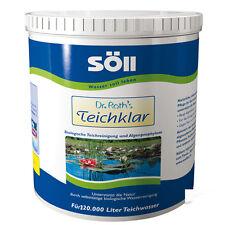 SÖLL Dr. Roths TeichKlar 6,0 kg Teichreiniger für 120 000 Liter Teich Klar
