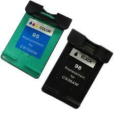 Remanufactured Ink Cartridge for HP 98/95 Photosmart C3180 Printer (Black+Color)