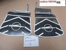 Coppia serie paraspruzzi posteriore Opel Kadett anni 60