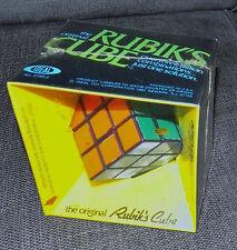 FACTORY SEALED VTG 1980 2164-2 IDEAL Authentic Original Rubik's Cube Puzzle NIB
