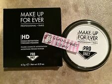 MAKE UP FOR EVER HD PRESSED POWDER MAKEUP PAN ONLY FULL SIZE REFILL .21oz HIGH