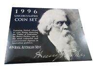 1996 Australian  UNCIRCULATED COIN MINT SET. SIR HENRY PARKES RAM