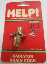 Dorman Help 61106 1/4'' NPT Radiator Drain Cock w/ Outlet