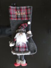 NEW FOR 2017 LUXURY PERSONALISED 3D CHRISTMAS STOCKING  SPECIAL OFFER THIS WEEK