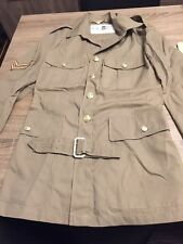 BRITISH ARMY/ROYAL MARINE UNIFORM MANS No.6 DRESS JACKET - Size 23