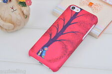 Genuine Painting Series iPhone 5C Case Cover + iPhone 5C Screen Protector