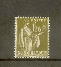 """FRANCE STAMP TIMBRE N° 287 """" TYPE PAIX 1F25 OLIVE """" NEUF xx SUP"""
