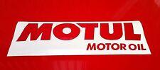 MOTUL Adesivo 2 x 290 mm Adesivi Decalcomanie Racing Auto Moto Rally Sponsor