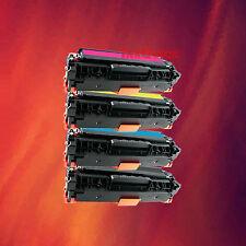 4 Toner CC530A CC531A CC532A CC533A for HP LaserJet NEW