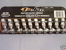 10pc Card of Deka Heavy Duty Top Battery Terminal Ends  Fast - Free - Shipping