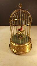 Singing Animated Bird Music Box Kend Germany * WORKS *
