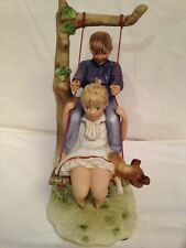 """1st Edition Norman Rockwell """"Summer Flying High� Figurine Large Mint"""