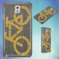 BICYCLE LANE ON GRAY CONCRETE ROAD HARD CASE FOR SAMSUNG GALAXY PHONES