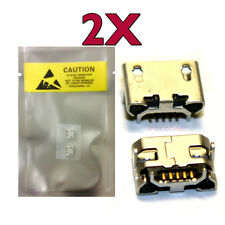 2 X New Micro USB Charging Sync Port Part ASUS TRANSFORMER PAD TF103C K010 USA