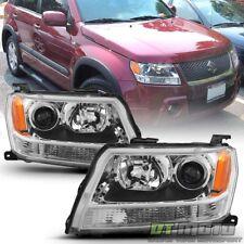 2006 2007 2008 Suzuki Grand Vitara Headlights Headlamps Aftermarket Left+Right