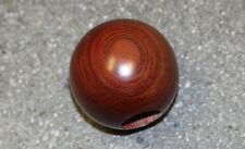 VW FLAT 4 ROSEWOOD BALL SHIFTER KNOB 10mm / 12mm STEPPED FOR HURST SHIFTER