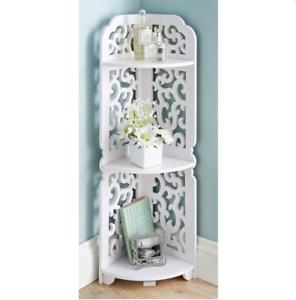 Camille 3 Tier Shelving Corner Shelves Living Room Bedroom Decorative Furniture