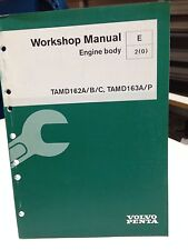 VOLVO PENTA WORKSHOP MANUAL ENGINE BODY P/N 7739075 (dbx2)