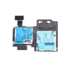 Samsung Galaxy S4 I9500 I9505 Sim Card & Micro SD Memory Reader Tray Slot Flex
