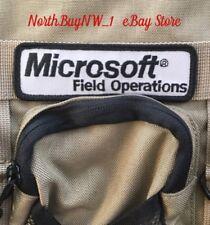 *RARE* MICROSOFT FIELD OPERATIONS - Tech Service Bag Laptop Messenger Computer