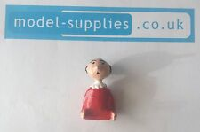 Corgi 802 Popeye Paddlewagon Reproduction Resin Painted Olive Oyl Figure Oil