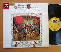 SAN 162 Orff Carmina Burana Lucia Popp De Burgos Angel Stereo EXCELLENT + insert