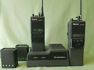 【Rare】Storno CP1000 - Storno Radio Communication Systems (Motorola HTX)  Working