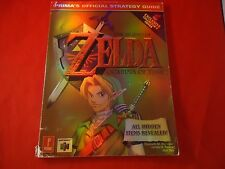 Legend of Zelda Ocarina of Time Strategy Guide Prima Collector's Nintendo 64 N64