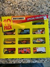 1992 Matchbox 10 Pack Special Collection Item # 0110  Made in China HTF  BB
