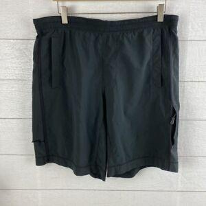 "Lululemon Shorts Men's Large Black 9"" inseam / 34"" Waist - tear/rip on side"