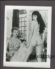 HARRISON MARKS Pamela Green & Marie Deveraux 1950 ORIGINAL NUDE PHOTO B391